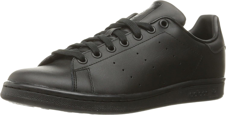 adidas Originals Stan Smith Zapatillas de Deporte Unisex adulto, Negro (Black/Black/Black), 40 EU (6.5 UK): Amazon.es: Deportes y aire libre