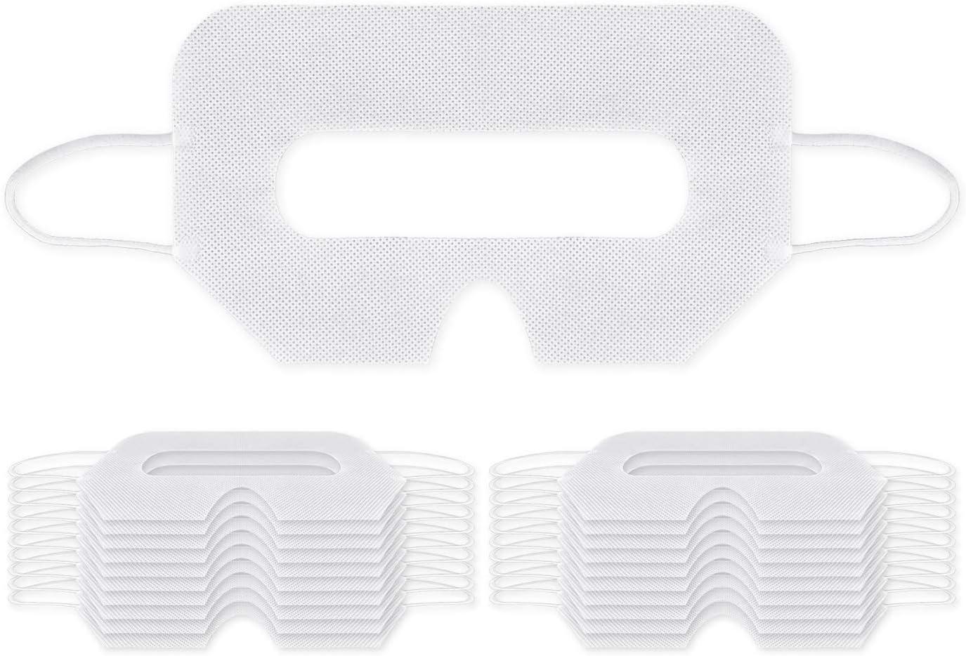 SCSpecial 20 piezas Universal VR Desechable Higiene Mascarilla para la cara Cubierta de cara Compatible con HTC VIVE PSVR Playstation VR Oculus Rift
