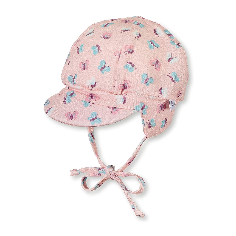 /Âge Sterntaler Casquette pour filles avec cordons /à nouer et cache-oreilles 4-5 Moi Rose fonc/é