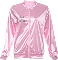 Amazon.com: Fun Costumes Women&39s Grease Pink Ladies Jacket: Clothing