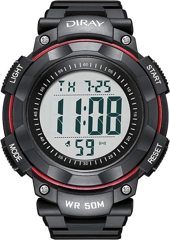 Amazon.com: Reloj digital analógico deportivo para hombre ...