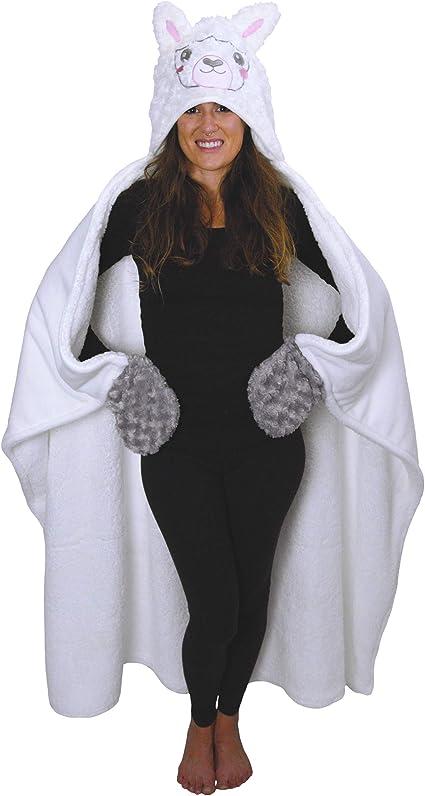 Llama Hooded Blanket