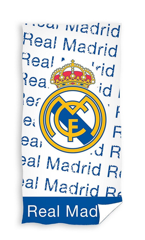 x Real Madrid Toalla de playa 150x75cm Duschtuch Badetuch Strandtuch RM17_1105: Amazon.es: Hogar