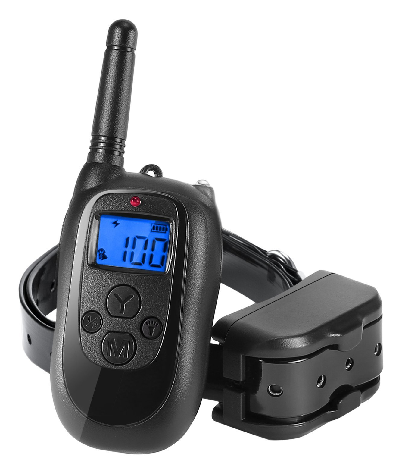 ALTMAN Dog Shock Collar 1000ft Remote Training, Rechargeable and IPX 7 Waterproof with Beep/Vibration/Shock Electric Collar for All Size Dogs by Nemobub