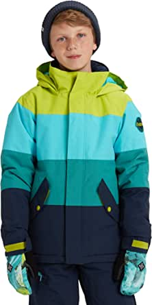 Burton Boys' Symbol Jacket, Tender Shoots Multi, Large