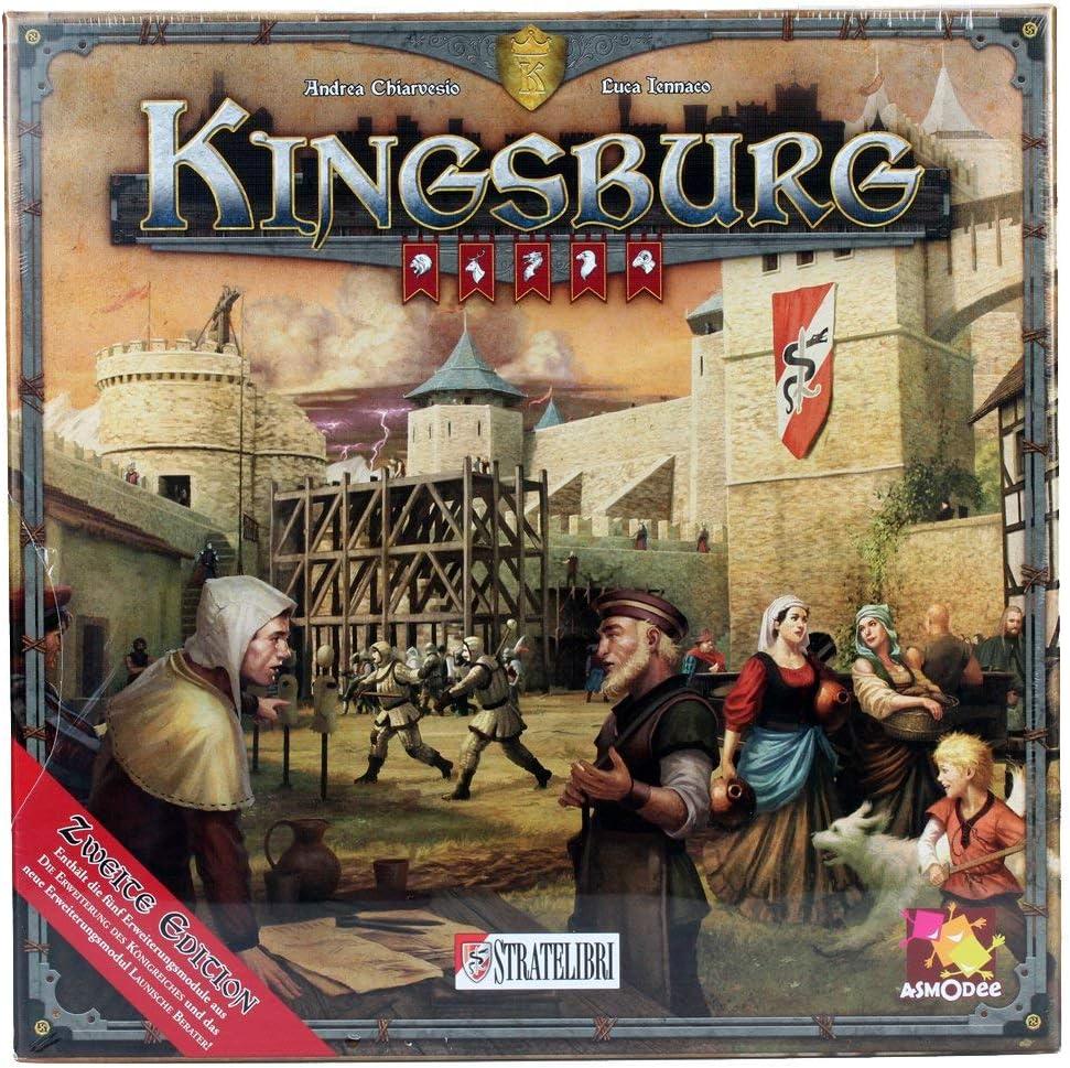 Asmodee giud0005 Kings Burg 2ª edición, Juego: Amazon.es: Juguetes y juegos
