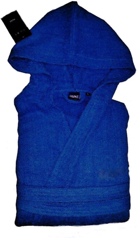 Set Shampoo Doccia Azzurro, XL menitashop Accappatoio in Spugna Uomo Donna con Cappuccio in Cotone