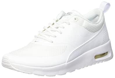 nike air max thea white trainers for boys
