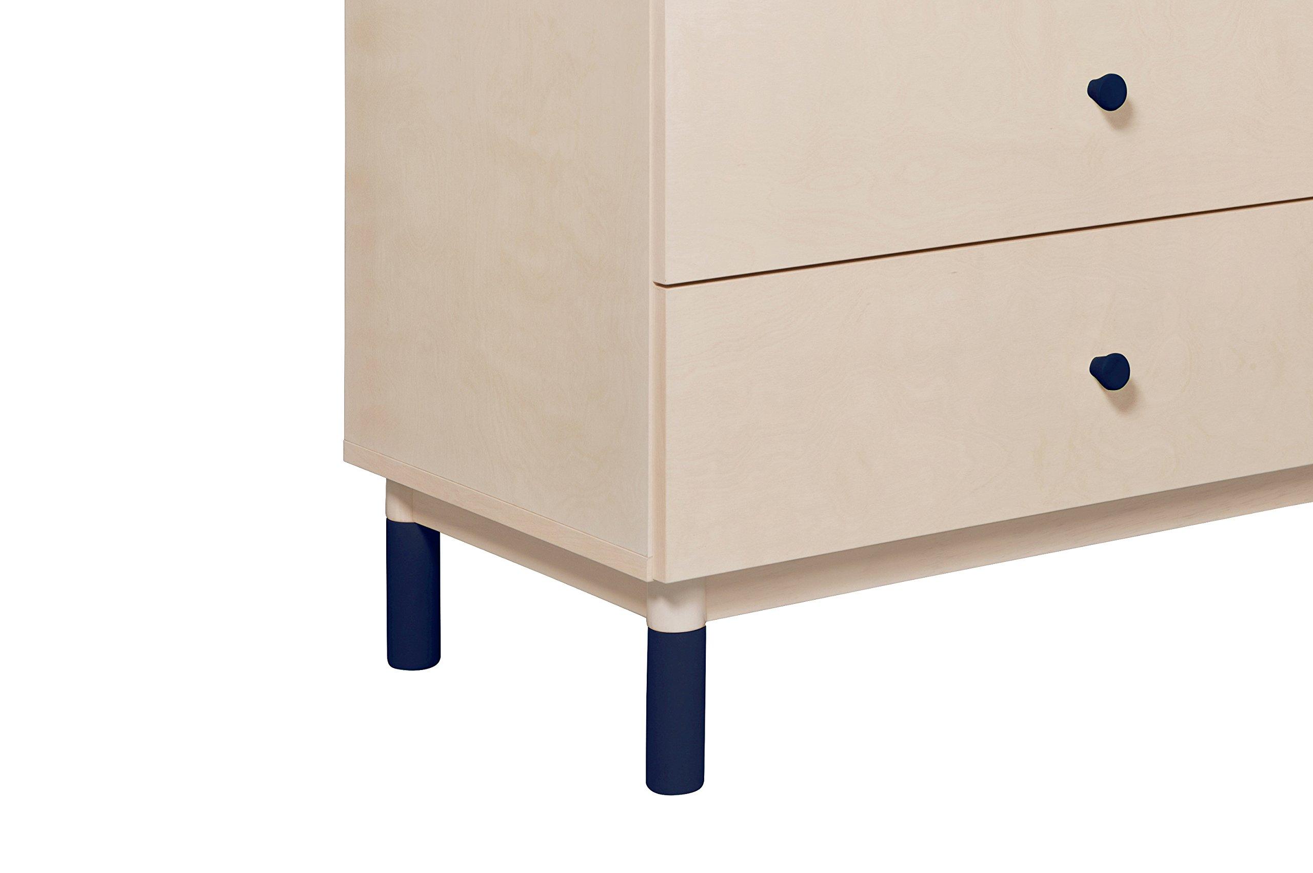 Babyletto Gelato Dresser Knob Set, Navy Blue