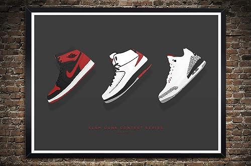 Air Jordan 1, 2, 3 Slam Dunk Contest