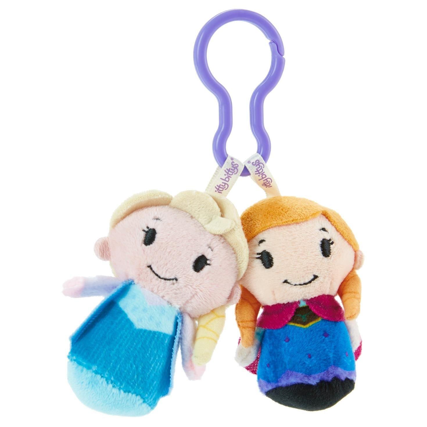 Hallmark Disney Frozen Elsa and Anna itty bittys Clippys