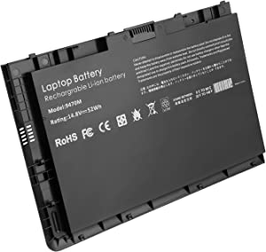 RayWEE 14.8V 54W New Laptop Battery Replacement for HP EliteBook Folio 9470 9470m 9480m Ultrabook Series 687517-171 687517-241 687945-001 696621-001 HSTNN-D