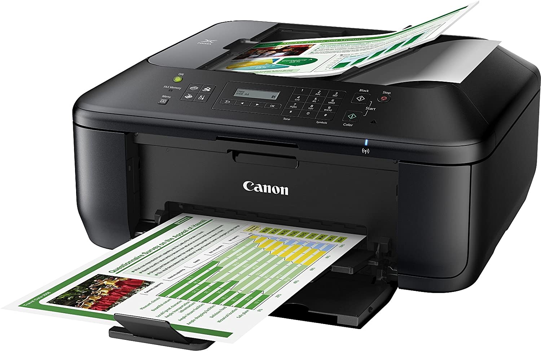 Canon PIXMA MX475 - Impresora multifunción de tinta - B/N 9.7 PPM, color negro