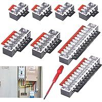 RETYLY 10pcs Conector Hembra Termoretr/áCtil De Espada De 6,3 Mm Completamente Aislado 22-16AWG