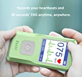 EMAY Handheld EKG Monitor (EMG-10) | Helps Detect