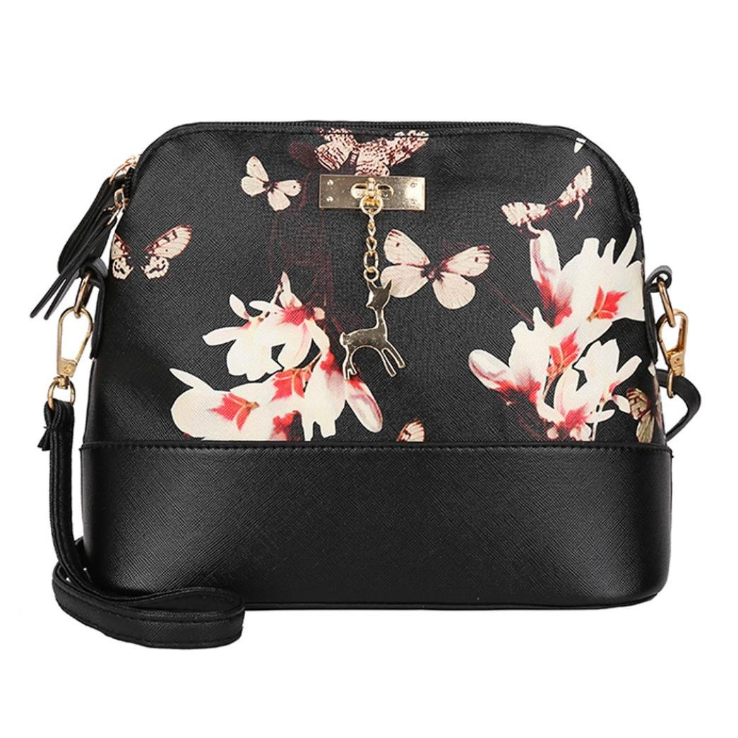 076afe628540 Pocciol Womens Leather Crossbody Bag Printing Small Deer with ...
