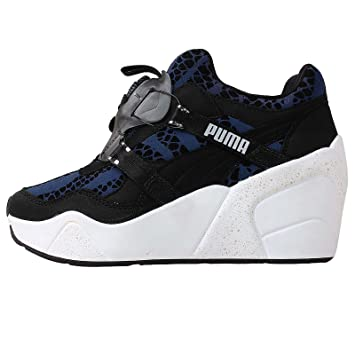 5efaee2924f Puma DISC WEDGE WNS Black Blue Women Sneakers Shoes  Amazon.co.uk  Sports    Outdoors