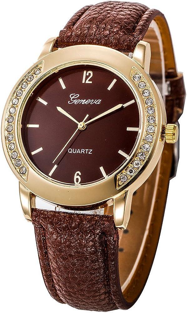 Womens Mens Quartz Watches,Hengshikeji Unique Quartz Dress Casual Simple Business Mens Watches Display Simple Stainless Steel Wrist Watch Bracelet Roman Numeral Waterproof Watch