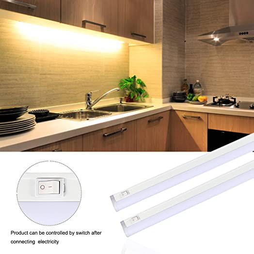S&G LED Under-Cabinet Lights 45CM 12W T5 Ultra Thin Under Counter ...
