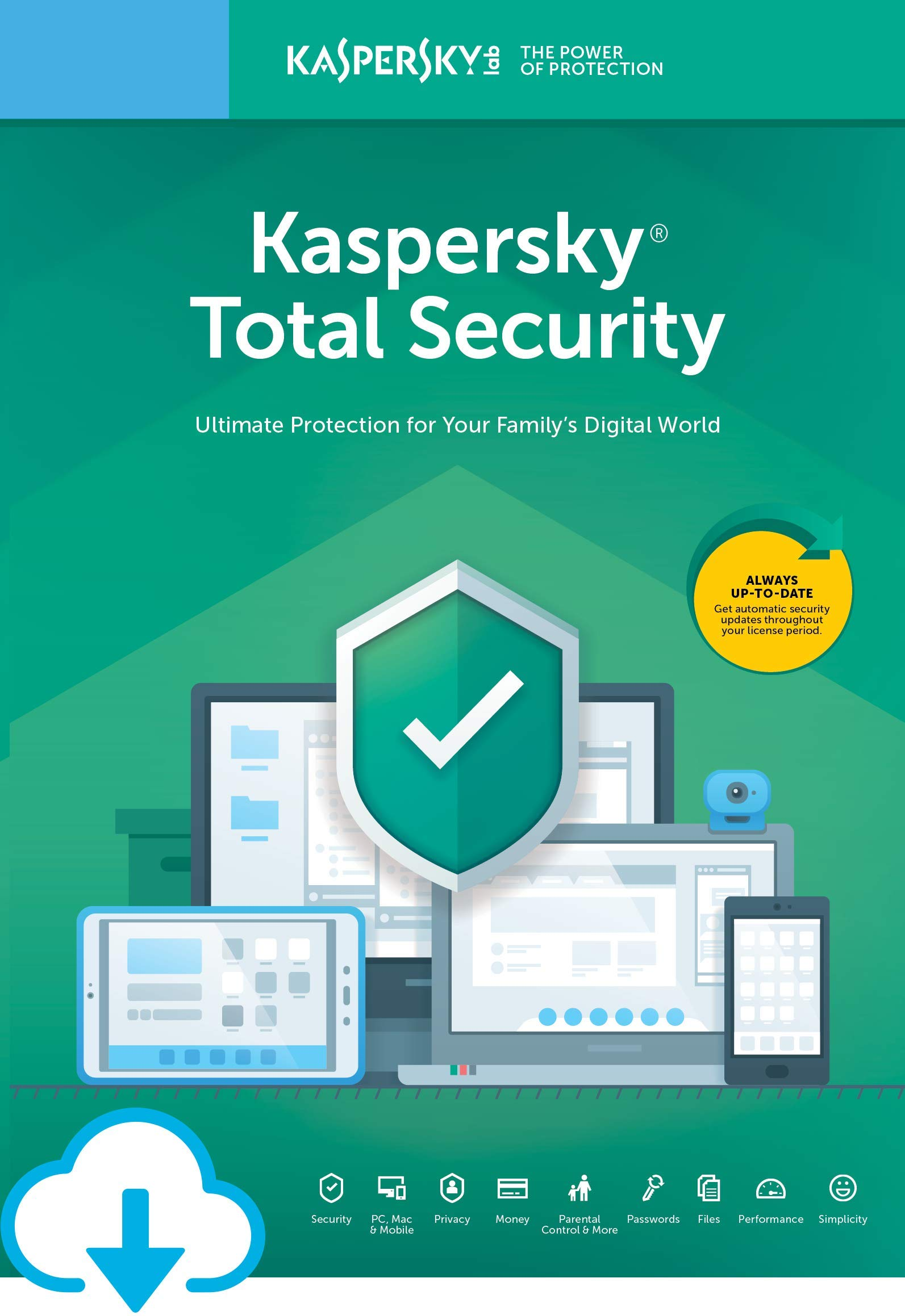 Kaspersky Total Security | 3 Devices | 1 Year [Download] by Kaspersky