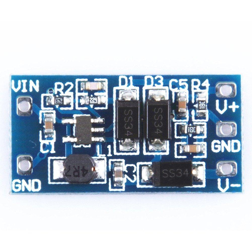 TOOGOO(R) Boost Power Module 2.8V-5.5V to +/- 12V DC-DC Power Converter Board Blue 122654