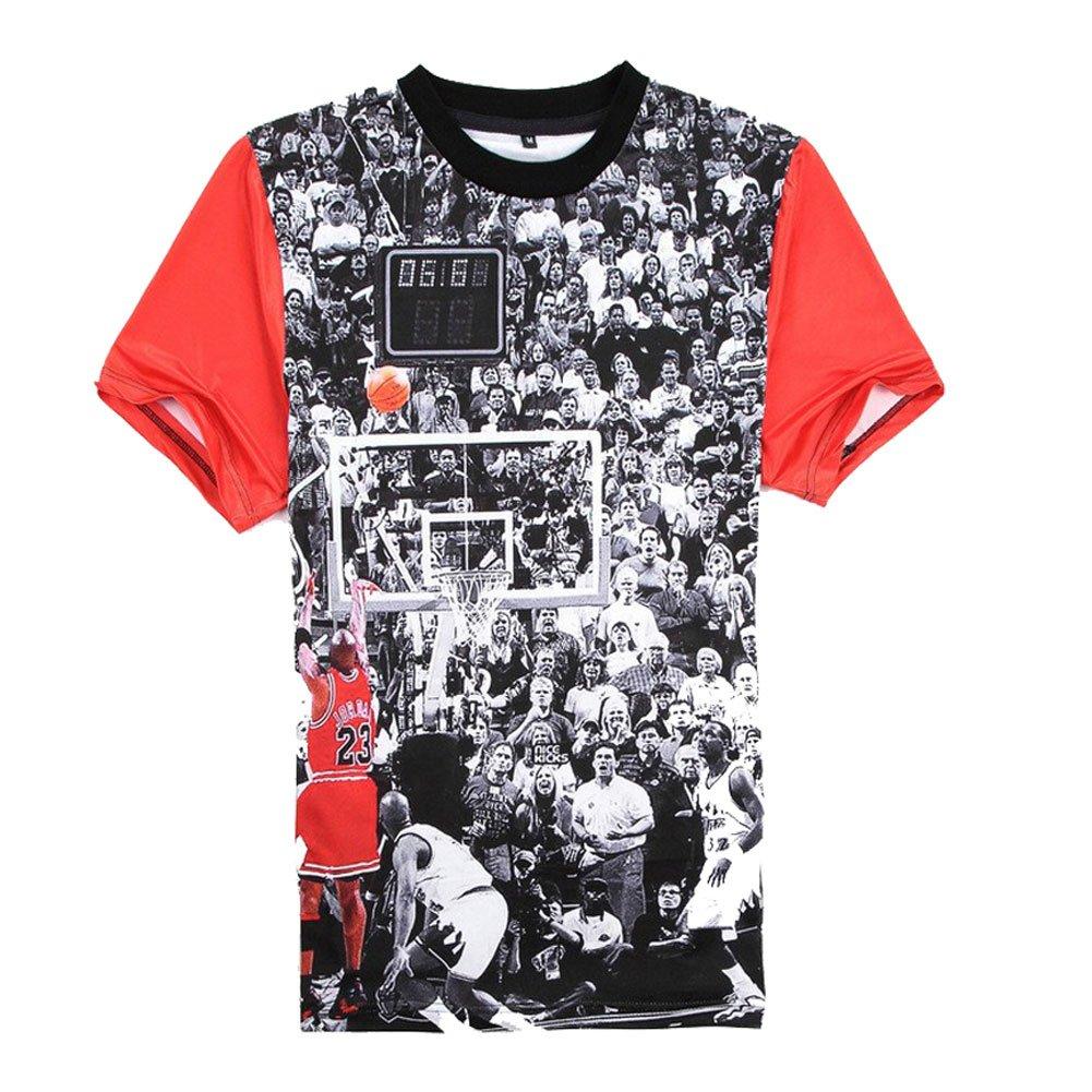 Catamaran Unisex Mens Jordan 23 Short Hip Hop 3d Teen T Shirts Crop Tops