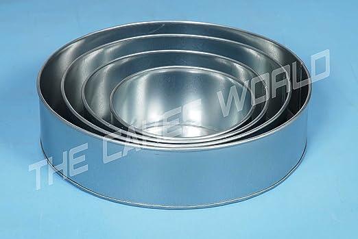 5 opinioni per EURO TINS teglia per torta nuziale 4 strati Rotonda- set da 4- in più 10 cm