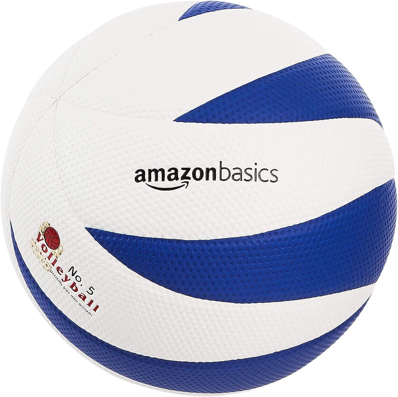 Amazon Com Amazonbasics Indoor Volleyball Ball Size 5 Sports Outdoors