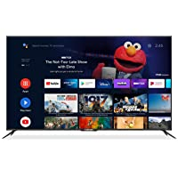 """Caixun EC75E1A, 75"""" Television 75 inch 4K UHD HDR Smart Android TV with Google Assistant (Voice Control), Bluetooth,Wi…"""