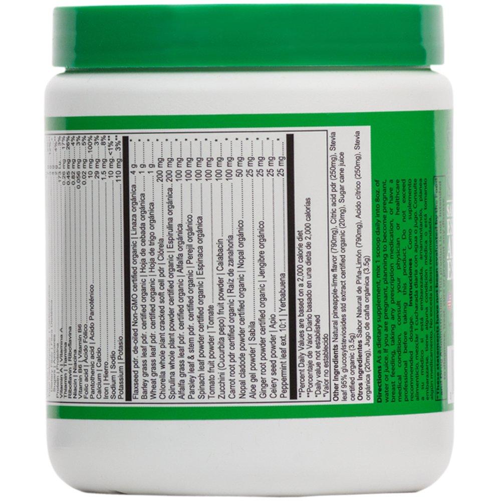 Amazon.com: Vibrant Health - Jugo Verde Greens Powder, Aloe, Cactus, and Vegetables, 15 Servings: Health & Personal Care