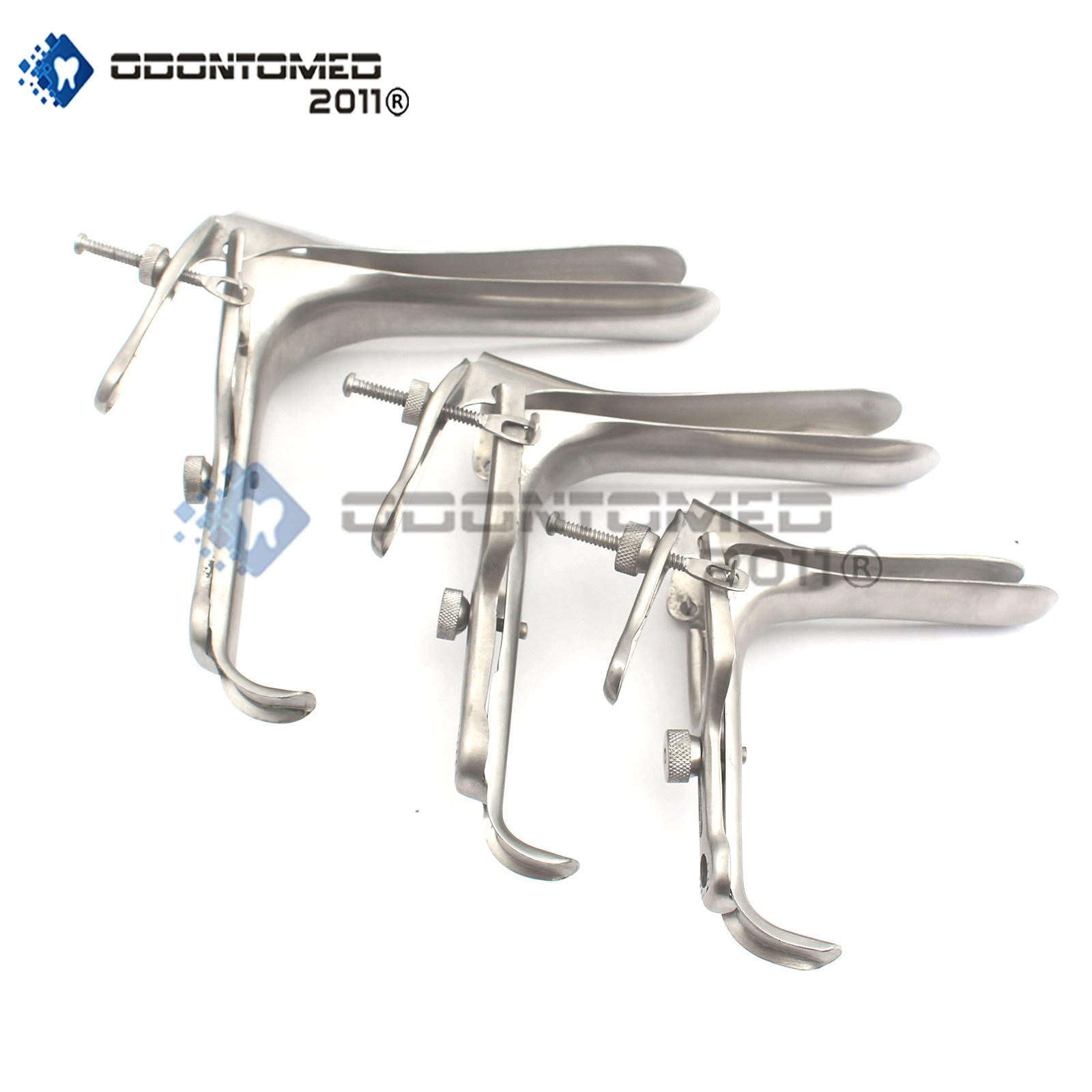 OdontoMed2011® Pederson Speculum Multiple Size and Color Options (Silver, S,M,L)