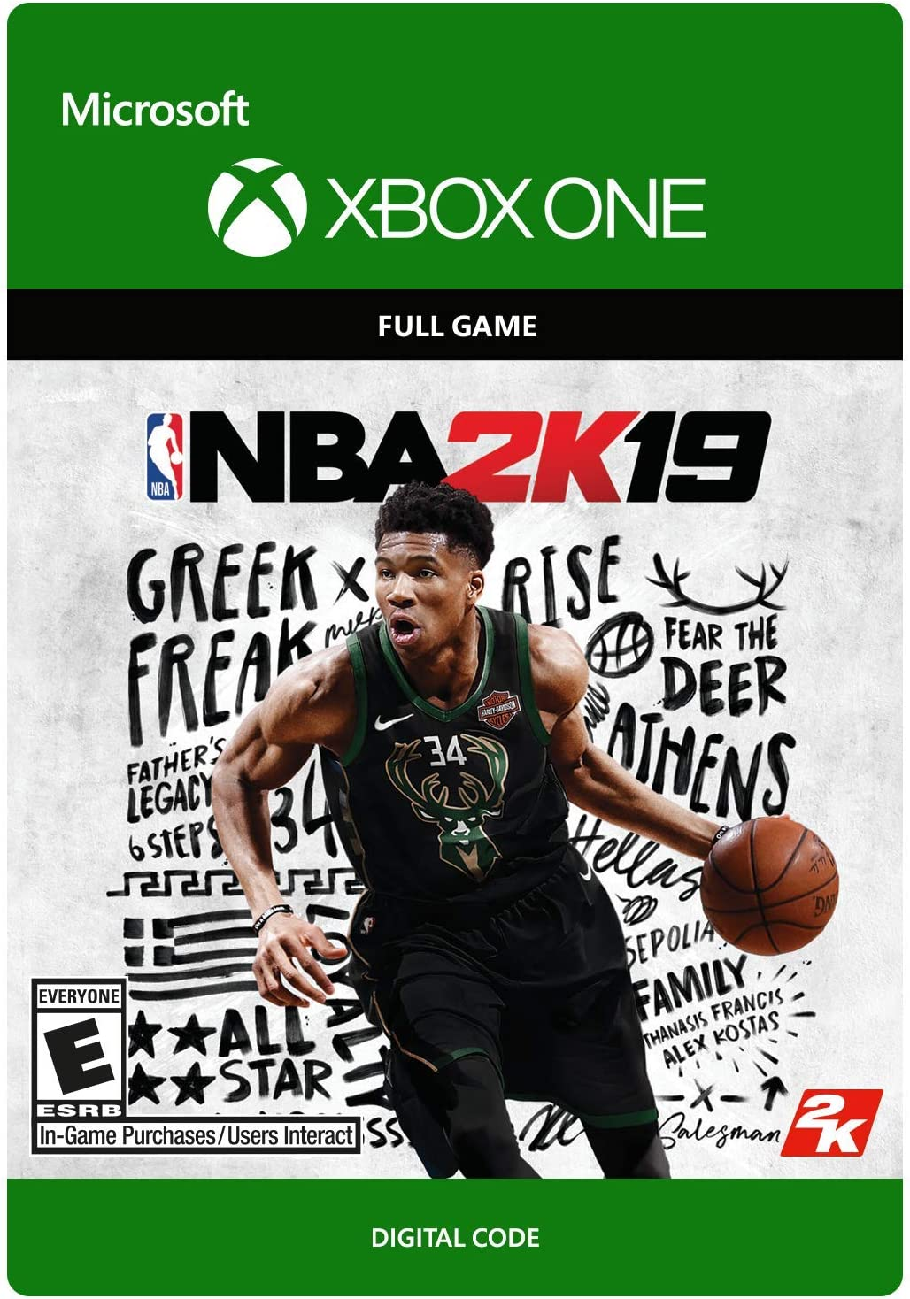 Amazon Com Nba 2k19 Xbox One Digital Code Video Games