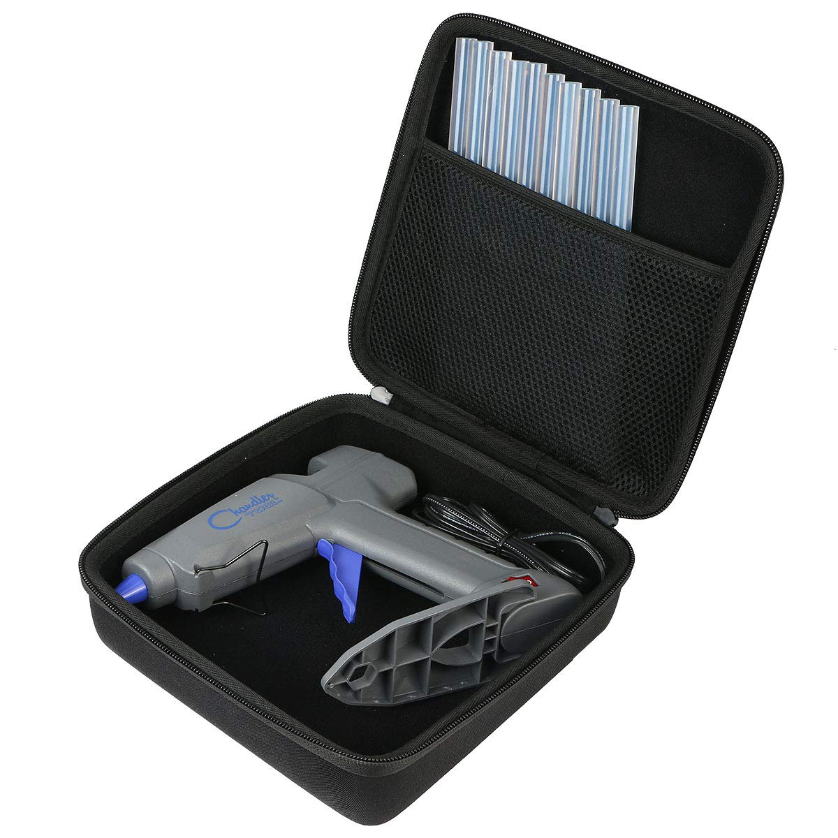 co2crea Hard Travel Case for Chandler Tool Commercial/Large Glue Gun by co2crea