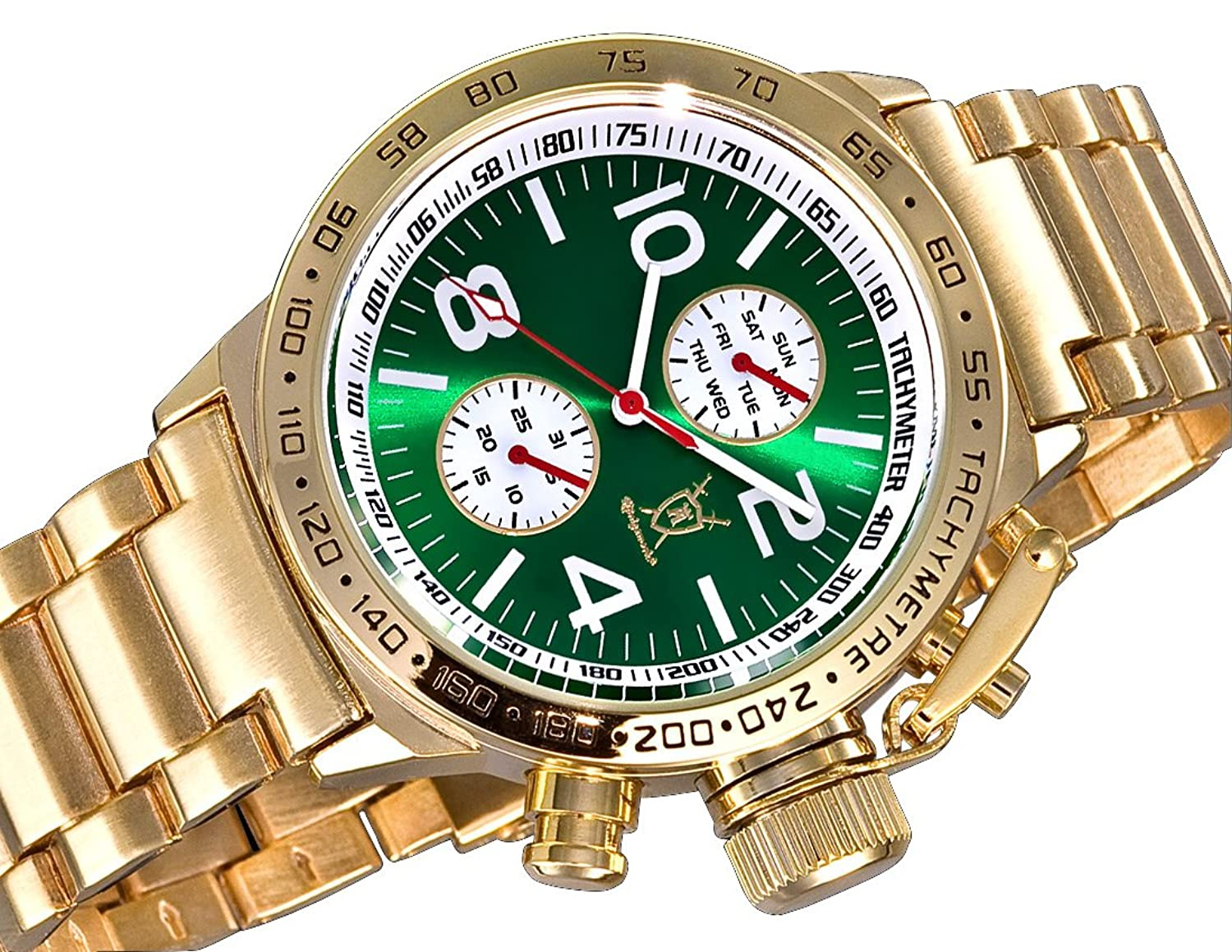 invicta dial diver watches products green quartz mens watch s men pro chronograph face
