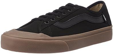 Vans Men s Black Ball SF Black and True White Sneakers - 8 UK India ... 76dc3819d