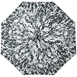 Harrm's Military Style Umbrella, Automatic Open/Close Foldable Rain Umbrella/UV Protection