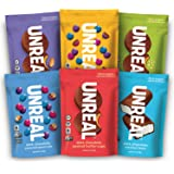 UNREAL Complete Vegan Variety Pack | Less Sugar, Fair Trade, Non-GMO | 6 Bags