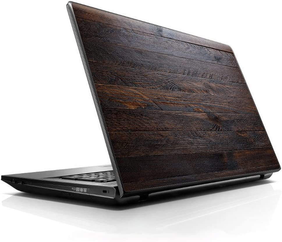 """15 15.6 inch Laptop Notebook Skin Vinyl Sticker Cover Decal Fits 13.3"""" 14"""" 15.6"""" 16"""" HP Lenovo Apple Mac Dell Compaq Asus Acer/Wooden Wall Pattern"""