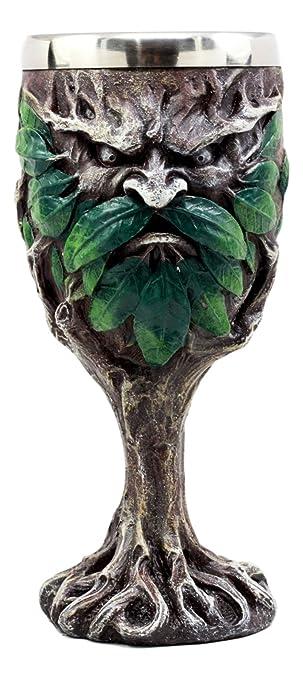Egift Eye of the Dragon Fantasy Chalice 7 Ounce Wine Goblet Home Kitchen Decor