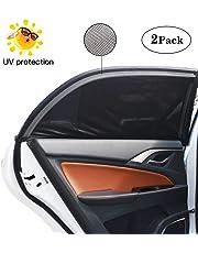 Bedee Pare-soleils, 2 Pièces Nuances de Fenêtre de Voiture, Bloquer les Rayons UV, Protégez Votre Enfant et Animaux