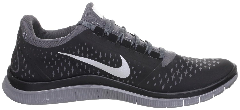 more photos 57dd5 77e4a Amazon.com | Nike Free 3.0 V4 Running Shoes - 12.5 - Black ...