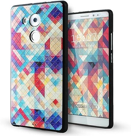 Huawei Mate 8 Case,Lizimandu TPU Ultra Slim 3d Pattern Protective ...
