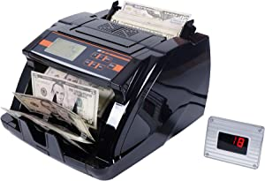 O52 Money Counter Machine Fast Speed Small Size and Alarm System for Counterfeit Bill