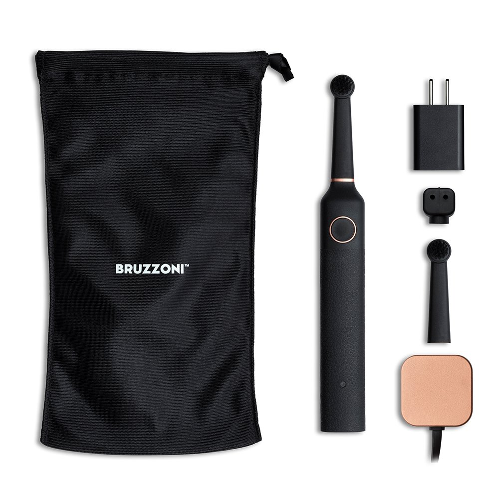 Bruzzoni Electric Toothbrush, Black, Scandinavian Design