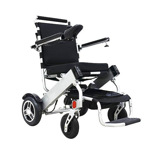 Amazon.com: bangeran eelectric silla de ruedas plegable ...