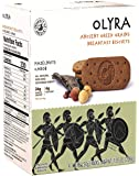 Olyra: Ancient Greek Grains Breakfast Bar - Carob Hazelnuts - 4 Count, 7.05 Ounce