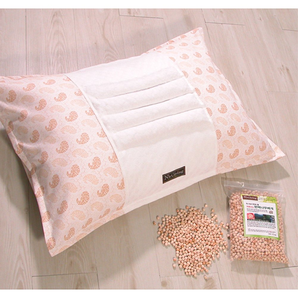 N's Giving Phytoncide Hinoki Cypress Wood Chip & Natural Latex Pillow Cover by N's Giving (Image #2)
