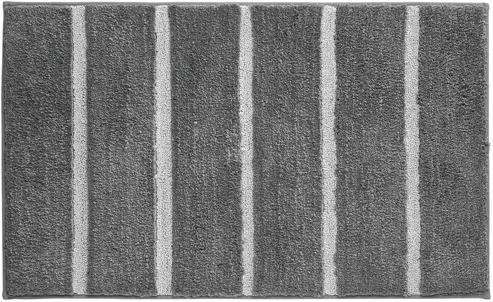 Carvapet Alfombra de Ba/ño Alfombra Ducha Antideslizante Suave Felpa Microfibra Alfombras y Moquetas Alfombrilla para Ba/ño Beige, 50x150cm