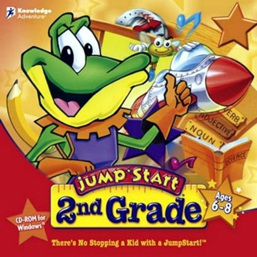 Jump Start 2nd Grade 71Z6WJ4uCKL