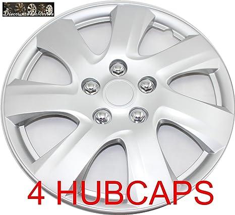 discountwheelcovers.com 16 juego de 4 tapacubos para 2006 – 2011 Toyota Camry fundas